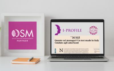 Potenziare il Capitale Umano: OSM Partner insieme a GURU JOBS con lo studio del I-Profile ®